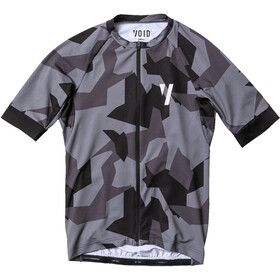 VOID Print Maillot Manches courtes Homme, black shield